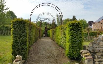 Photos ferronnerie de pierre et jardin for Arche de jardin fer forge