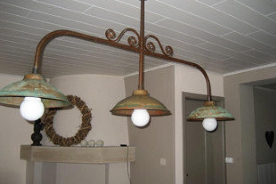 Lampe triple